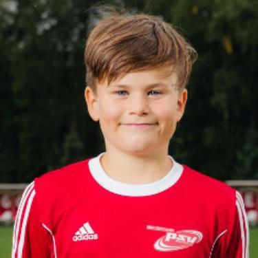 Leon Müller, Fußballspieler beim PSV Rostock E-Junioren I