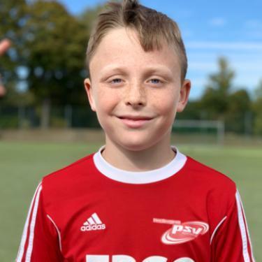 Lorenz Brunkow, Fußballspieler beim PSV Rostock E-Junioren I