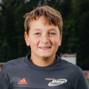 Lukas Elias Daniel Hoffmann, Fußballspieler beim PSV Rostock E-Junioren I