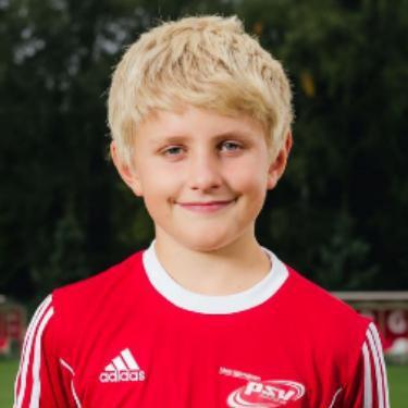 Max Möller, Fußballspieler beim PSV Rostock E-Junioren I