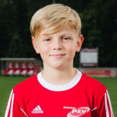 Maxim Alsfasser, Fußballspieler beim PSV Rostock E-Junioren I