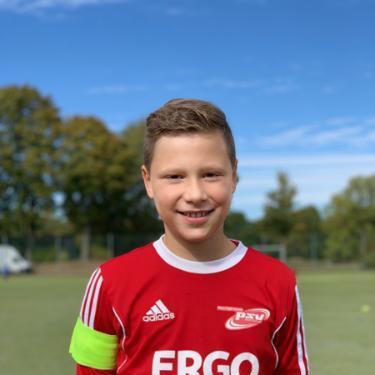 Tammes Ohlandt, Fußballspieler beim PSV Rostock E-Junioren I