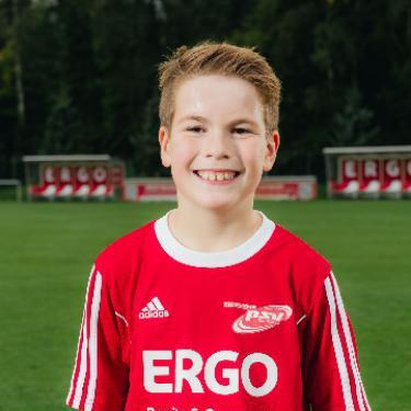 Adrain Plott, Fußballspieler beim PSV Rostock F-Junioren II