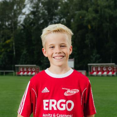Claas Schwolow, Fußballspieler beim PSV Rostock F-Junioren II
