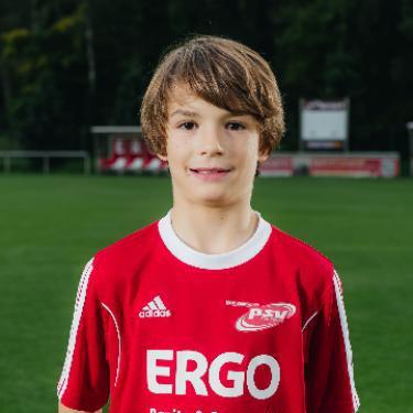 Gustav Wilhelm Mrotzek, Fußballspieler beim PSV Rostock F-Junioren II
