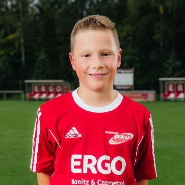 Tammes Ohlandt, Fußballspieler beim PSV Rostock F-Junioren II