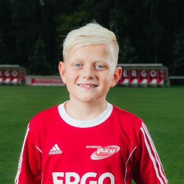 Tobias Krolik, Fußballspieler beim PSV Rostock F-Junioren II