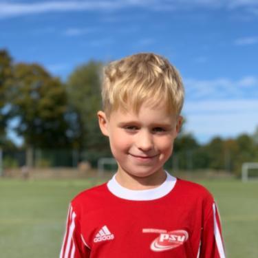 Felix-Jarne Reimann, Fußballspieler beim PSV Rostock F-Junioren II