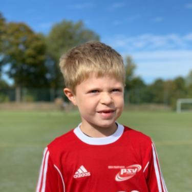 Henning Jennssen, Fußballspieler beim PSV Rostock F-Junioren II