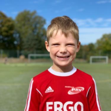 Henrik Voss, Fußballspieler beim PSV Rostock F-Junioren II