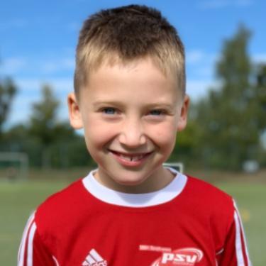 Jannik Schwachulla, Fußballspieler beim PSV Rostock F-Junioren II