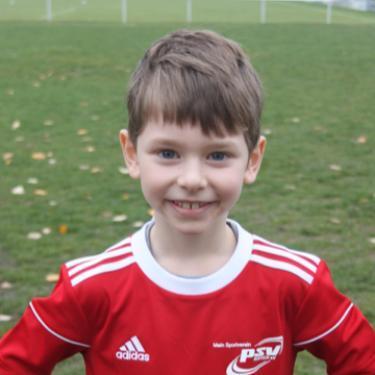 Jonas Lentz, Fußballspieler beim PSV Rostock F-Junioren II