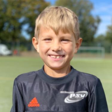 Lion Aurel Allers, Fußballspieler beim PSV Rostock F-Junioren II