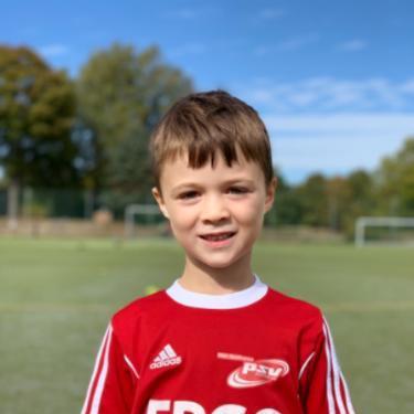 Maximilian Böger, Fußballspieler beim PSV Rostock F-Junioren II