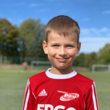 Eric Schumacher, Fußballspieler beim PSV Rostock F-Junioren