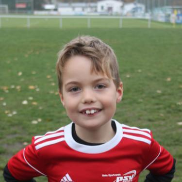 Fiete Wangler, Fußballspieler beim PSV Rostock F-Junioren