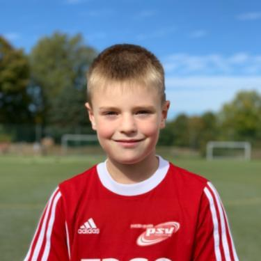Joris Höhn, Fußballspieler beim PSV Rostock F-Junioren